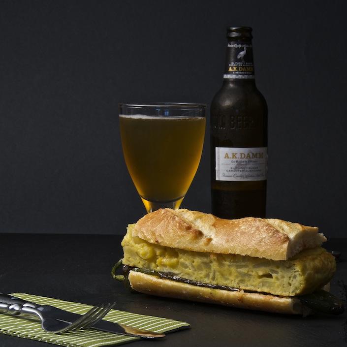 Spanish Omelet Sandwich