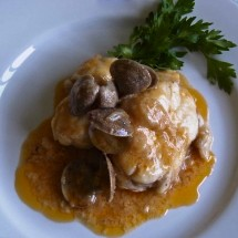 Monkfish with Romesco