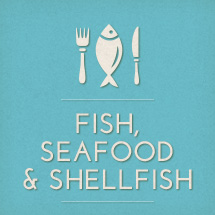 Fish, seafood & shellfish