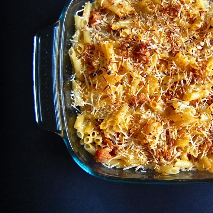 macaroni and cheese in spanish