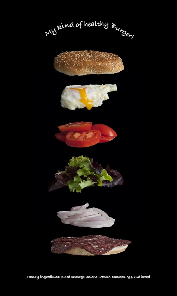 Burger and Photoshop