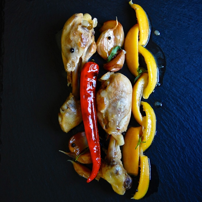 Chicken Thighs with Lemon and Garlic