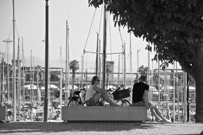 Barcelona marina port